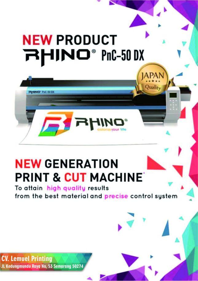 Mesin Rhino Print&Cutting PNC 50DX